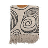 Bloomingville Cotton Throw - Nature Shell