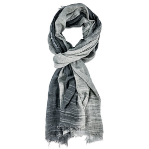 Amala Scarf - Charcoal Grey