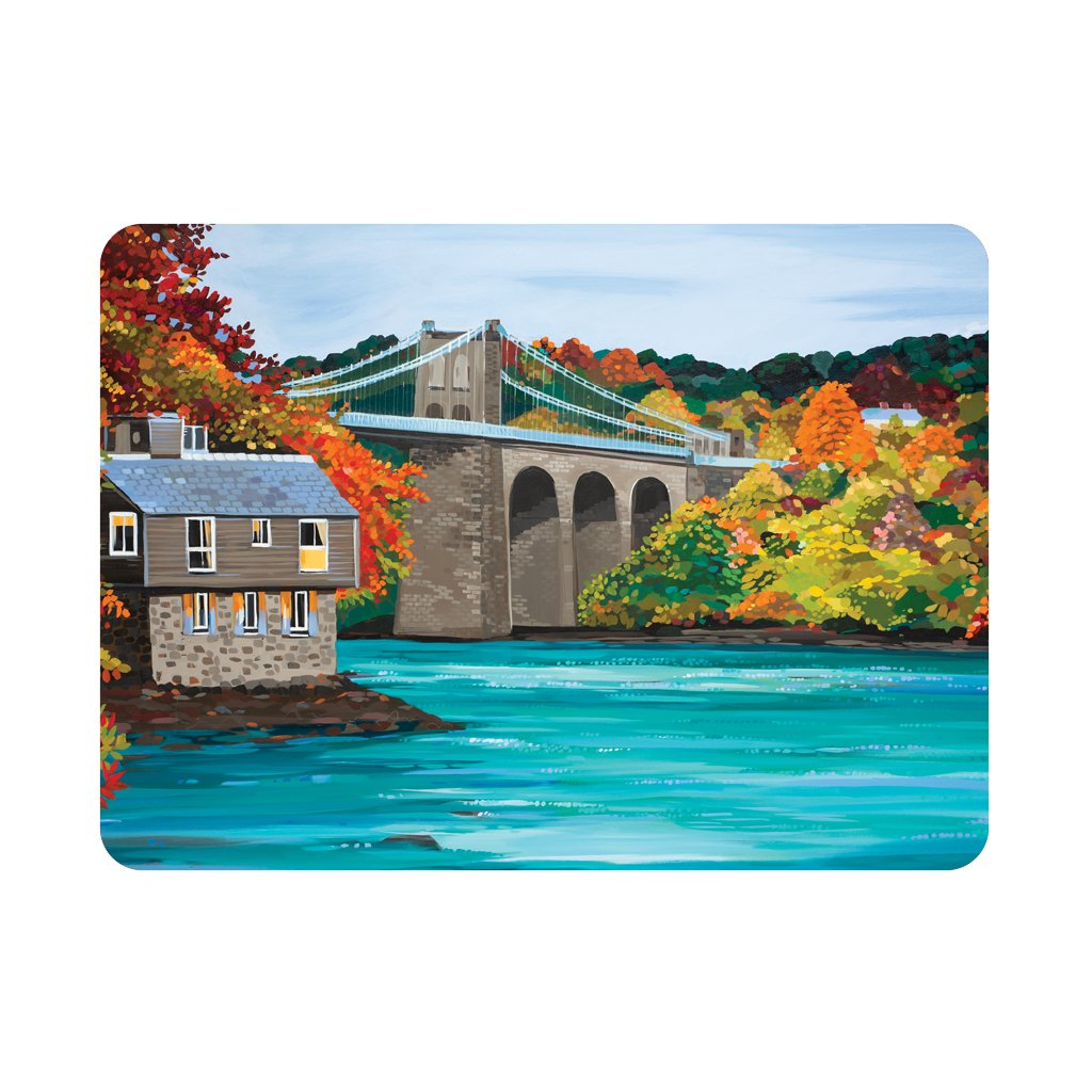 Janet Bell Placemat - Autumn Bridge