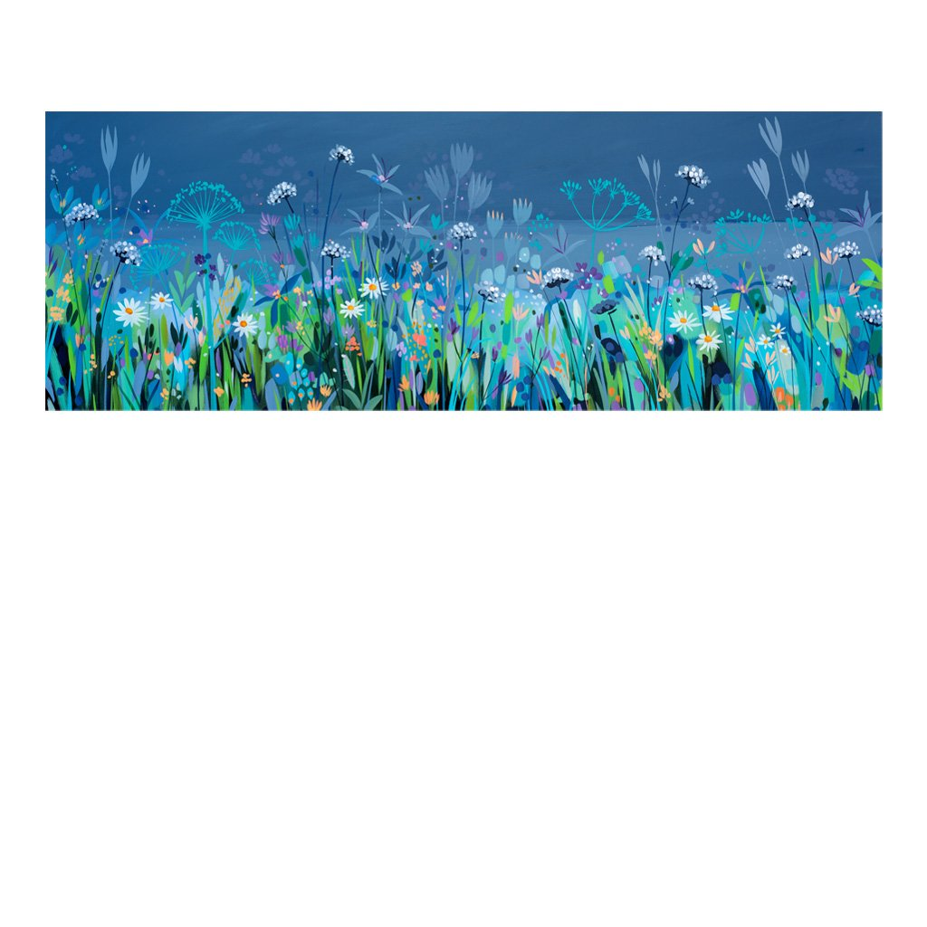Blue Fields (Limited edition canvas)