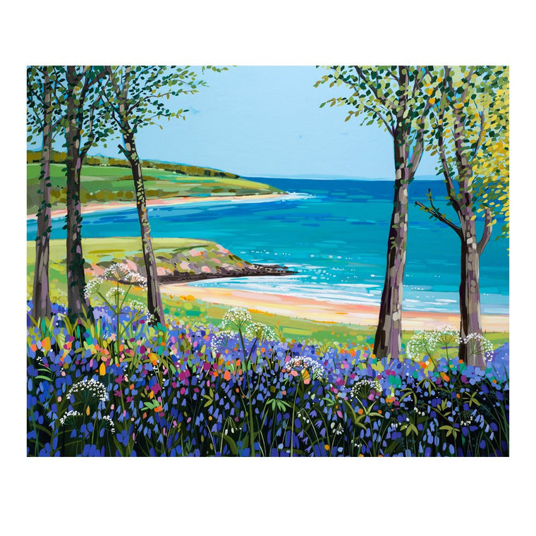 Bluebells at Traeth yr Ora (Limited edition canvas)