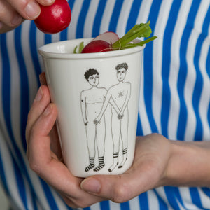 Porcelain Beaker - Willies
