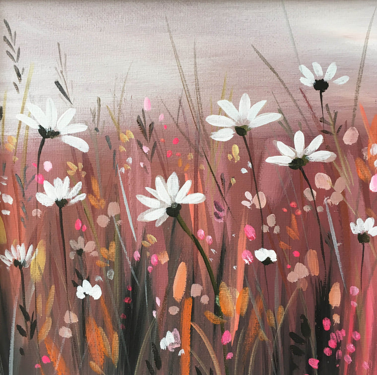 Daisies - Original Painting by Janet Bell