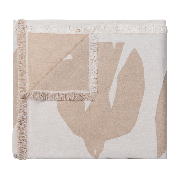 Brita Sweden Early Bird Throw - Sand