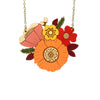 Autumn Posy Necklace by Layla Amber