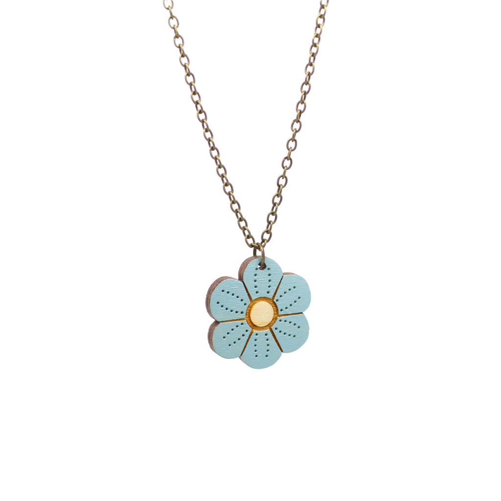 Forget-me-not Necklace by Layla Amber