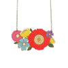 Poppy Bouquet Necklace
