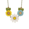 Daisy & Wildflower Necklace by Layla Amber