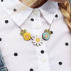 Daisy & Wildflower Necklace