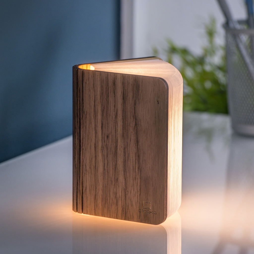 Mini Booklight - Walnut