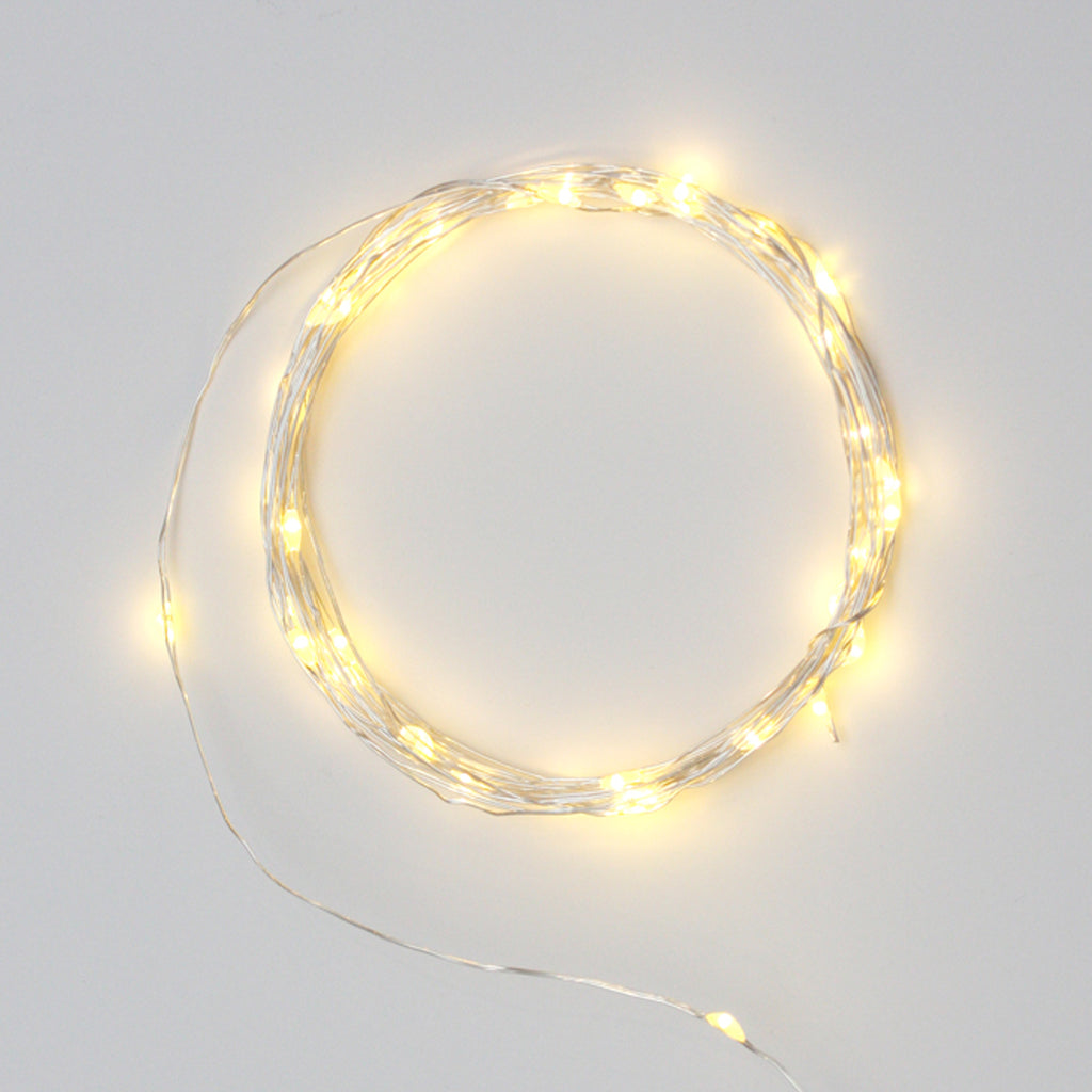 Galaxy LED Light Wire - Silver