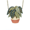 Begonia Maculata Necklace by Layla Amber
