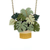 Monstera Deliciosa Necklace by Layla Amber