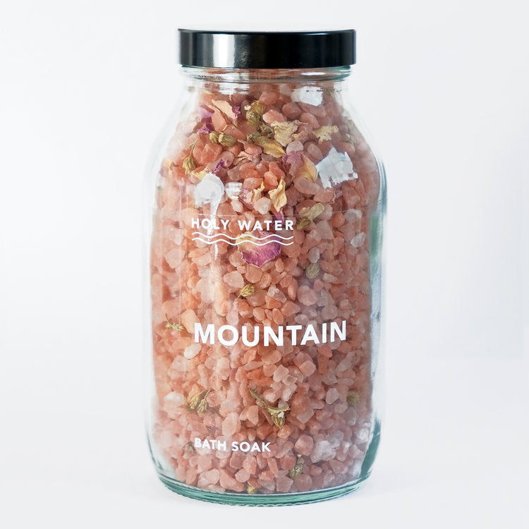 Holy Water Apothercary Bath Soak - Mountain