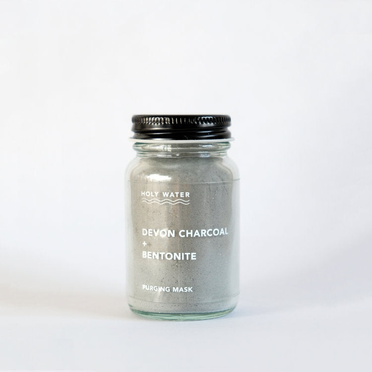Holy Water Face Mask - Devon Charcoal & Bentonite
