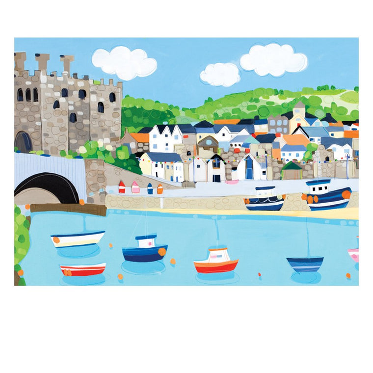 Conwy Harbour Postcard