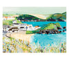Hope Cove Postcard by Janet Bell