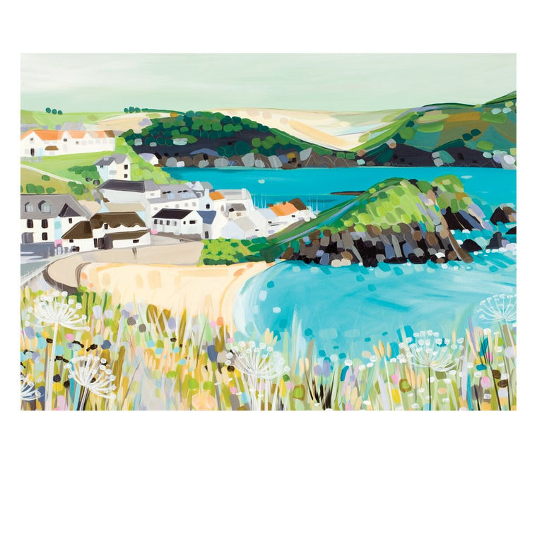 Hope Cove Postcard