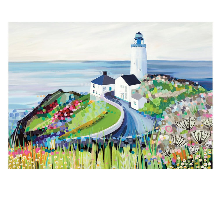 Janet Bell Postcard - The Lighthouse