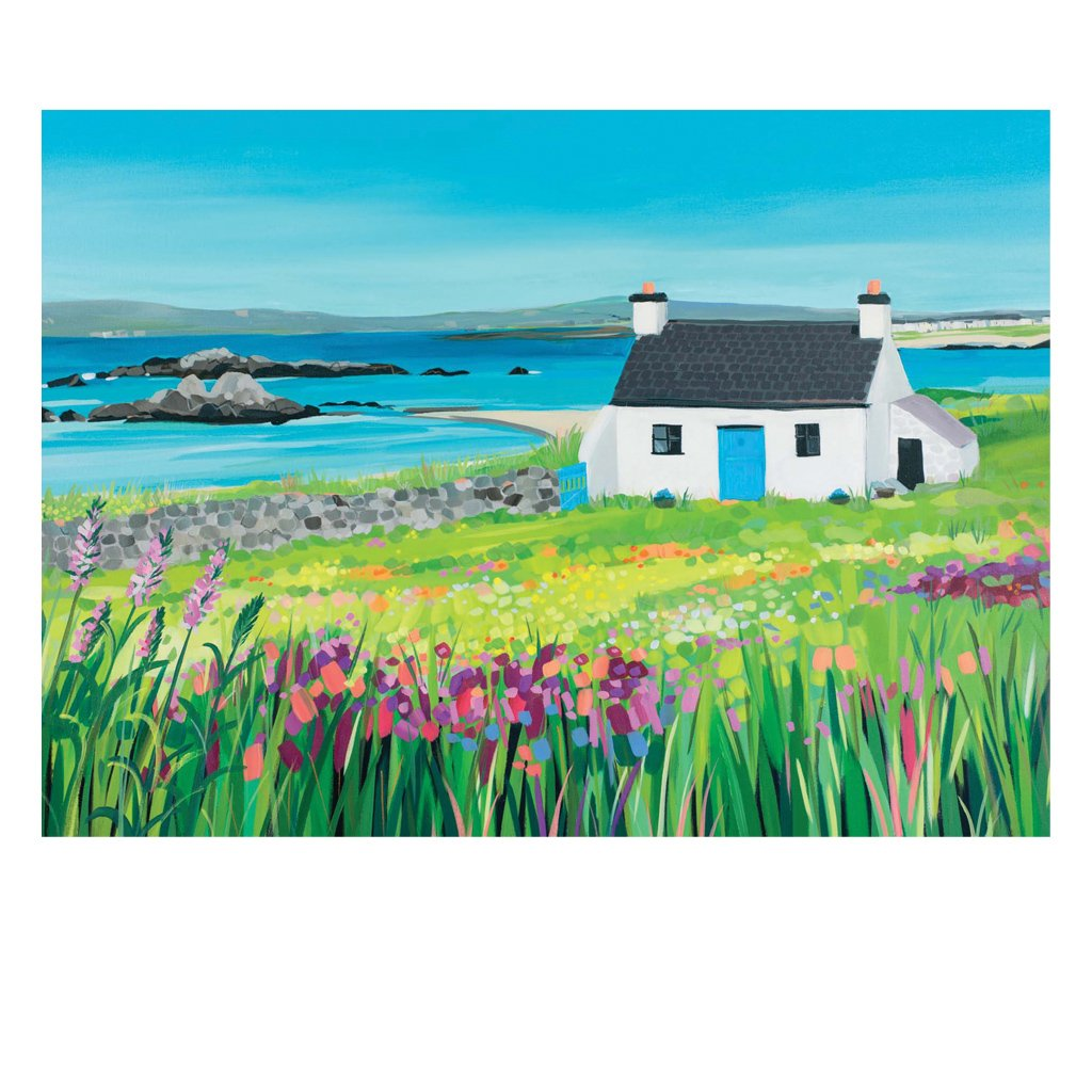 Cottage by the Sea Postcard