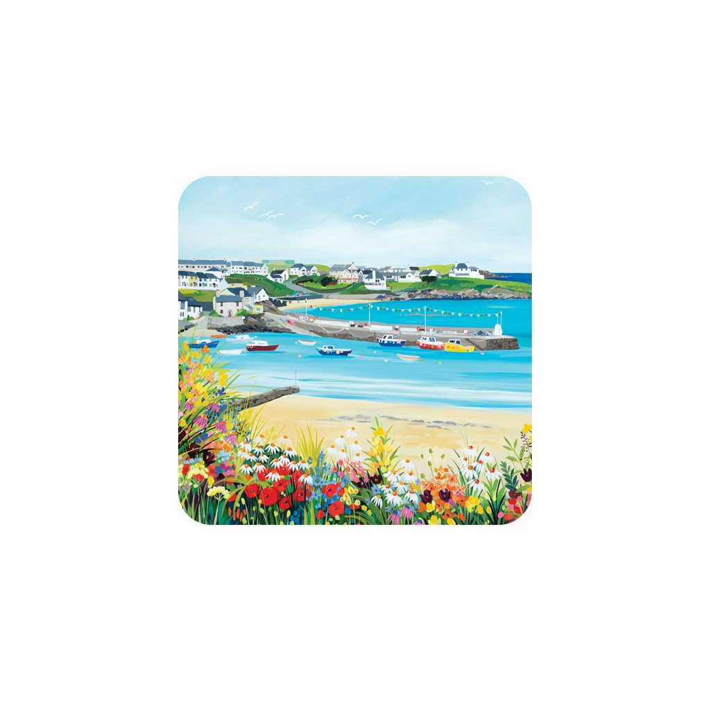 Cemaes Bay Coaster by Janet Bell