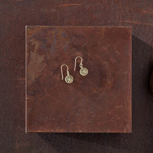 Jaki Earrings - Gold Drop