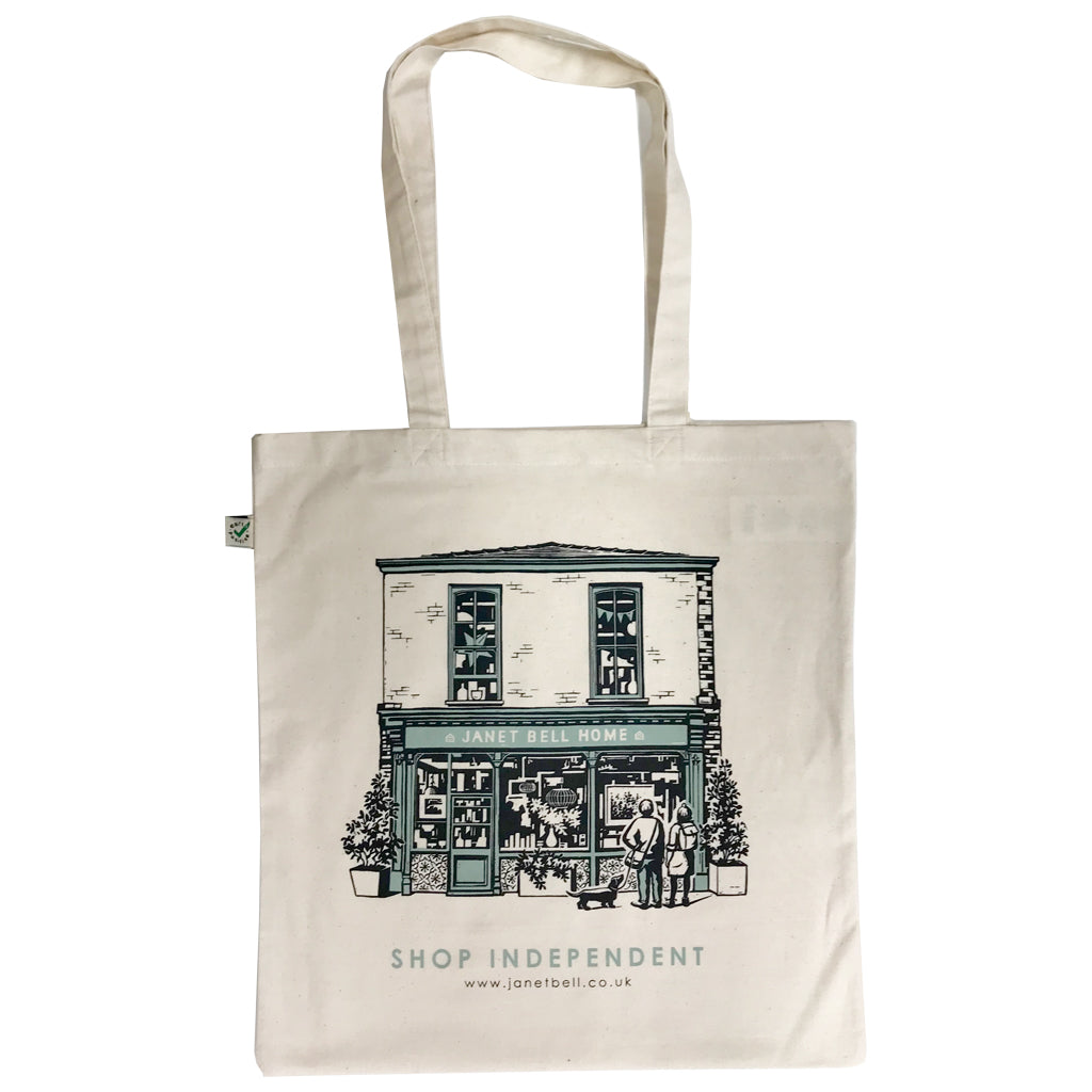 Janet Bell Tote Bag - Shop Independent