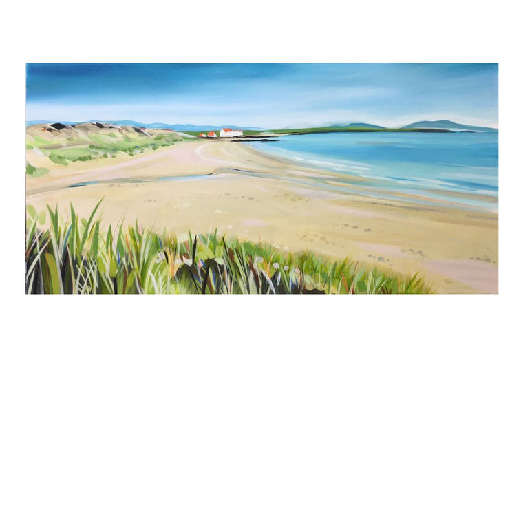 Broad Beach, Rhosneigr - Original Painting by Janet Bell