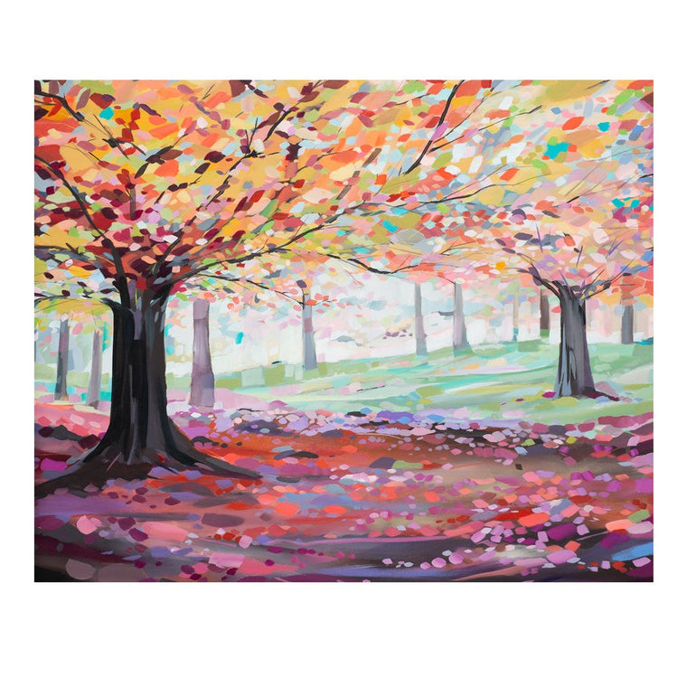 Autumn Trees - Janet Bell