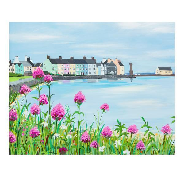 Beaumaris Pinks by Janet Bell