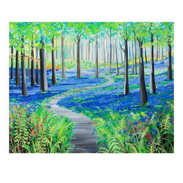 Bluebell Days (Limited edition canvas)