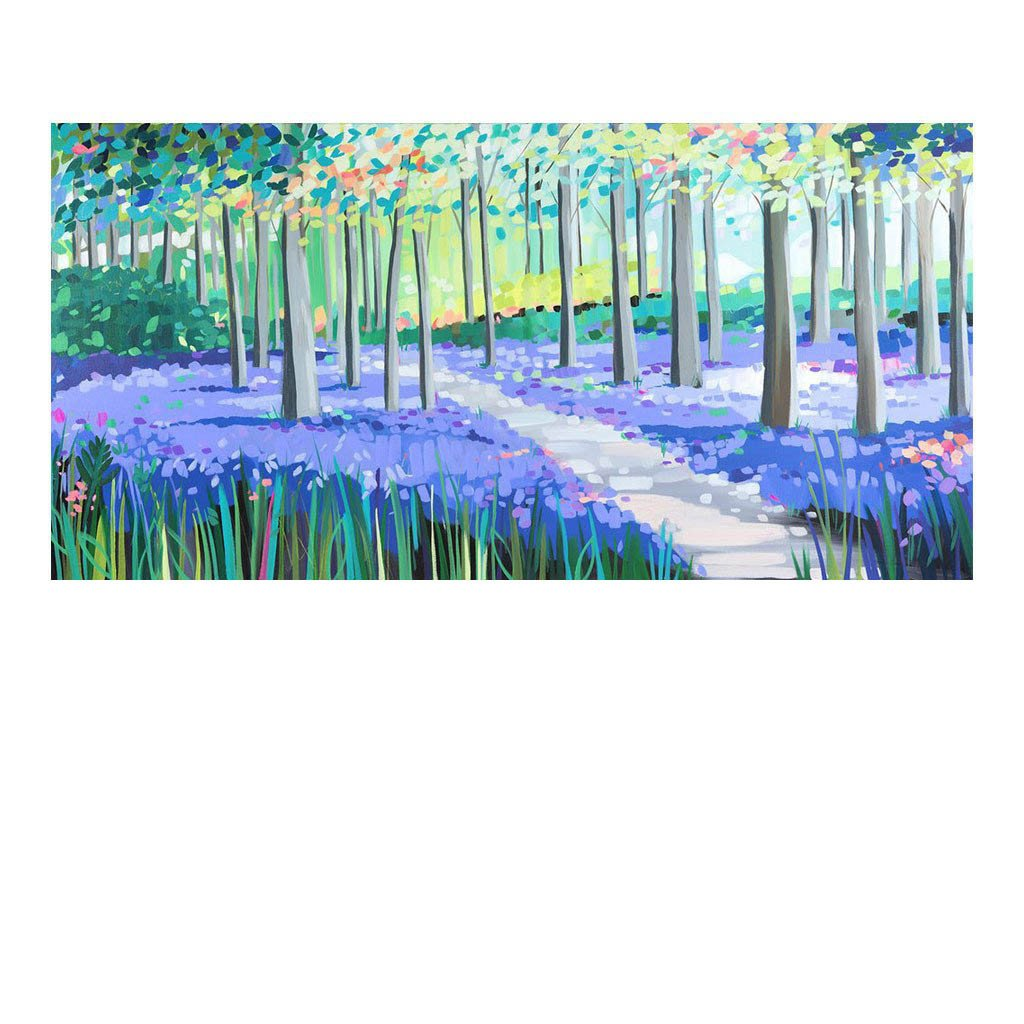 Bluebell Delight by Janet Bell