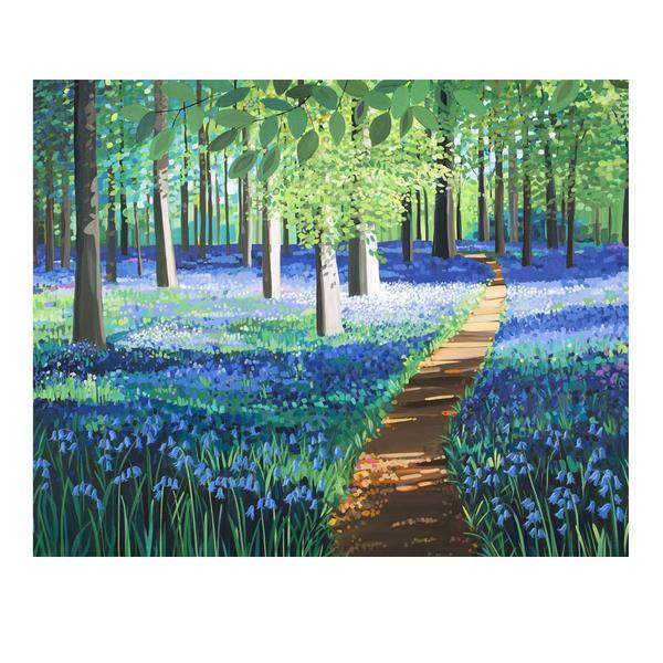 Bluebell Forest (Limited edition canvas)