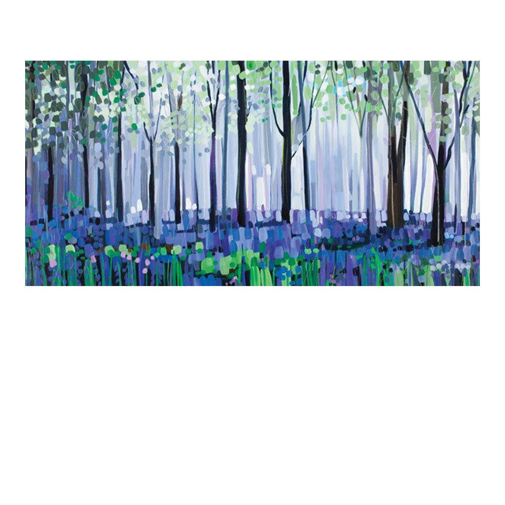 Bluebell Haze by Janet Bell