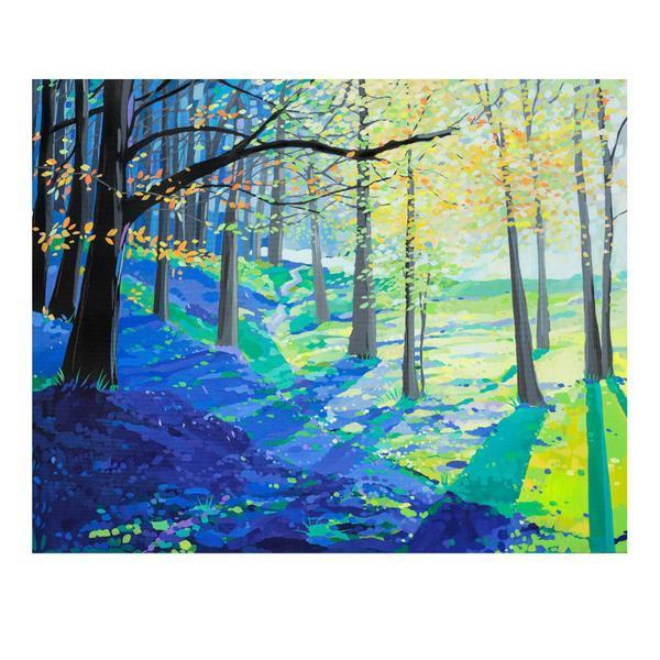 Bluebell Wonderland (Limited edition canvas)