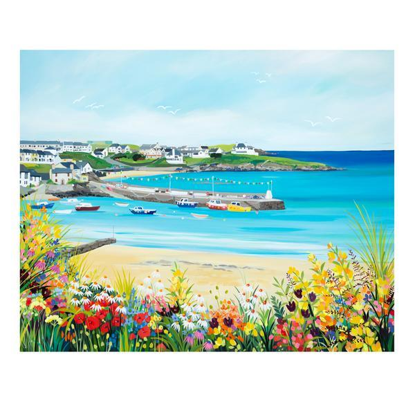Cemaes Bay by Janet Bell