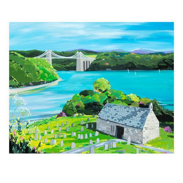 Church Island (Limited edition canvas)