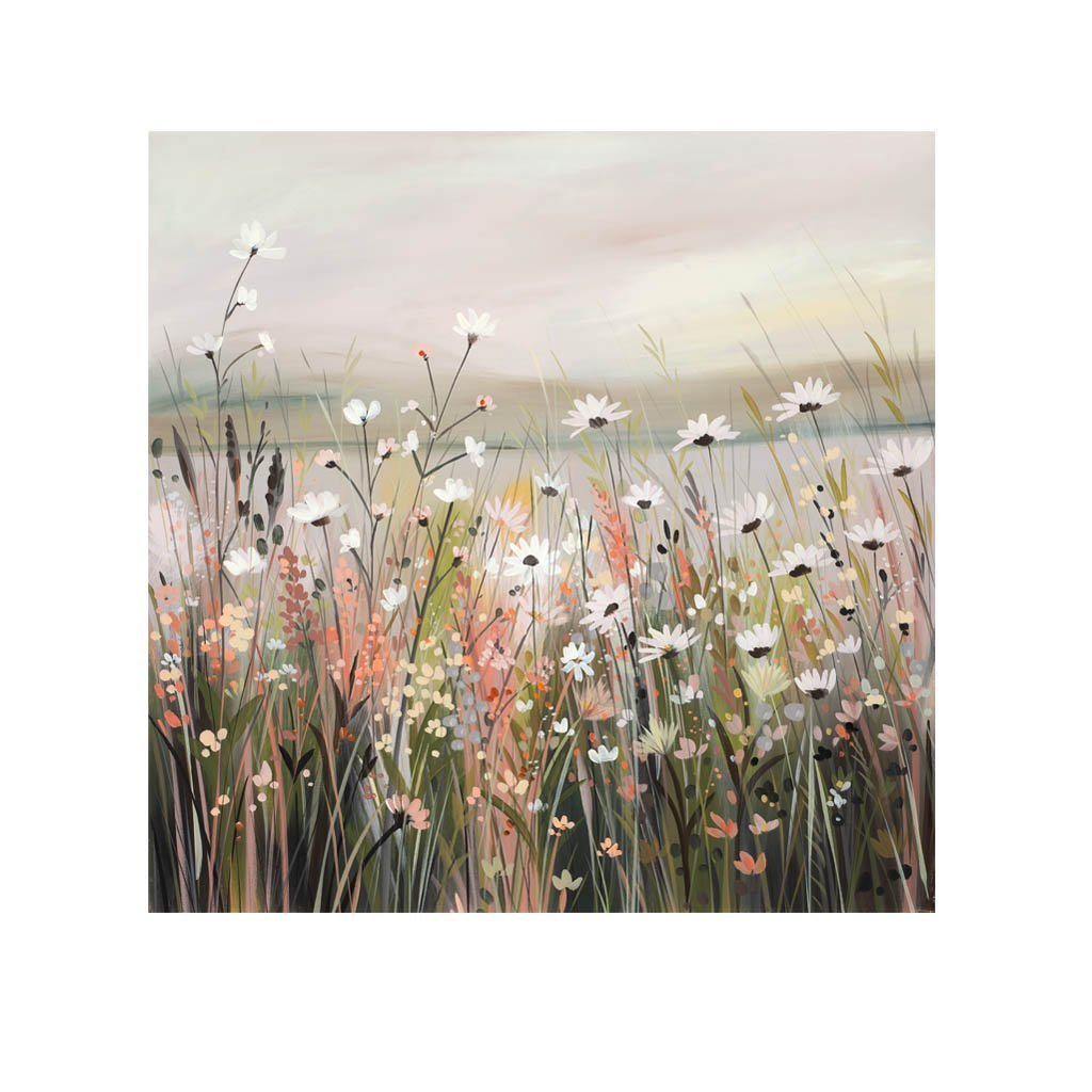 Daisies at Dusk (Limited edition canvas)