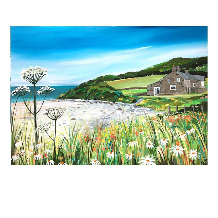 Llanddona Cottage (Limited edition canvas)