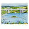 Menai Bridge in Spring (Limited edition canvas)