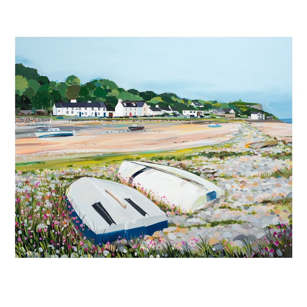 Red Wharf Boats (Limited edition canvas)