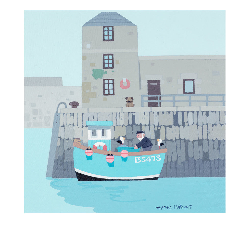 Amlwch Port - Limited Edition Print on Paper