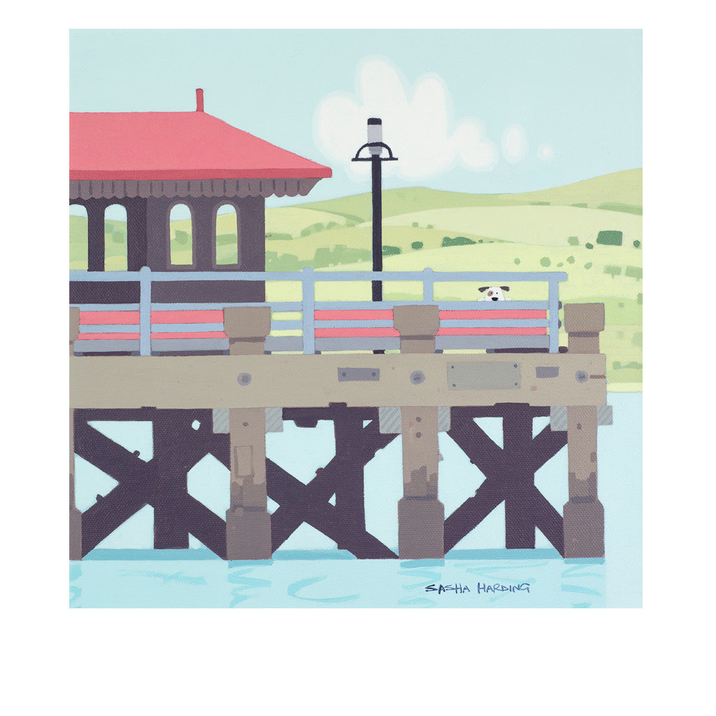 Beaumaris Pier - Limited Edition Print on Paper