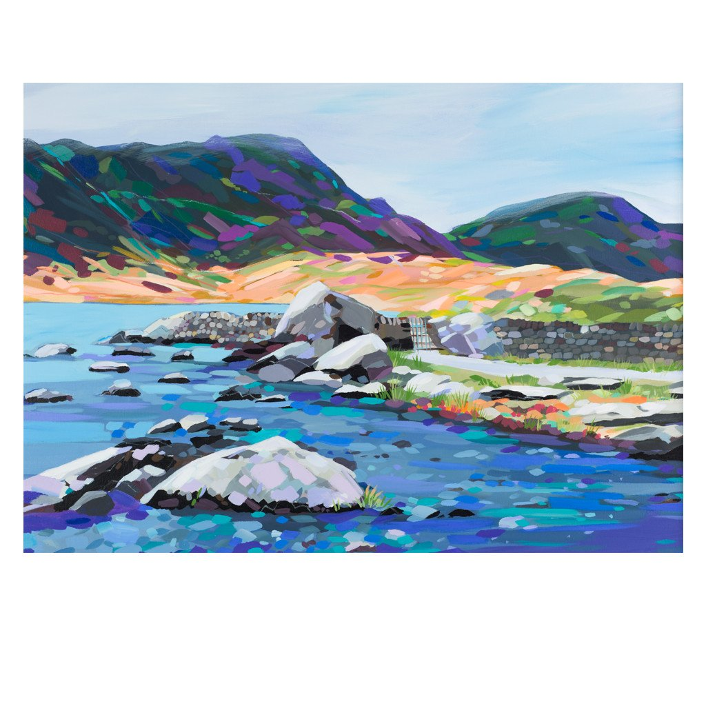Cwm Idwal - Original Painting by Janet Bell