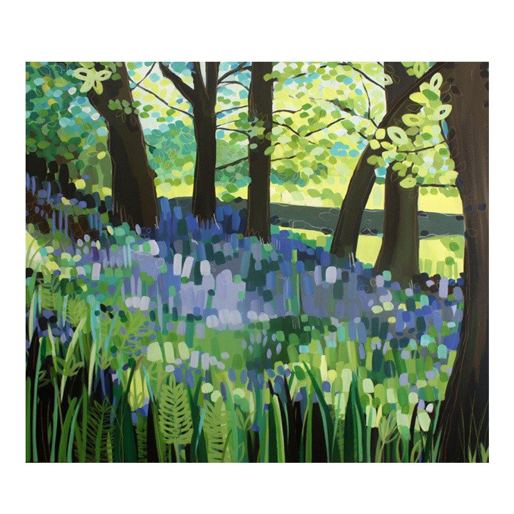 Bluebell Glades by Janet Bell