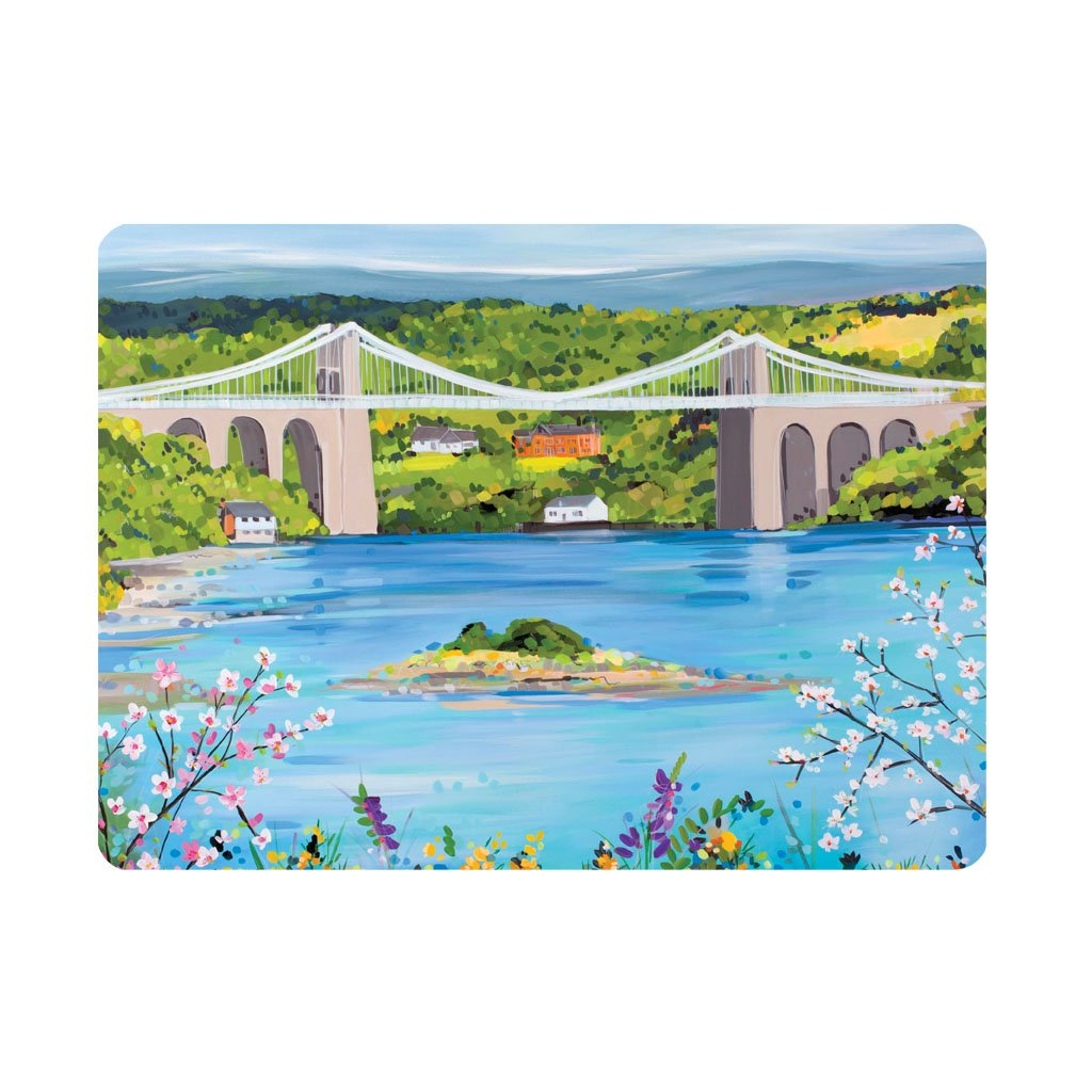 Menai Bridge in Spring - Single placemat