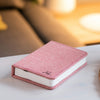 Mini Booklight - Blush Pink Linen