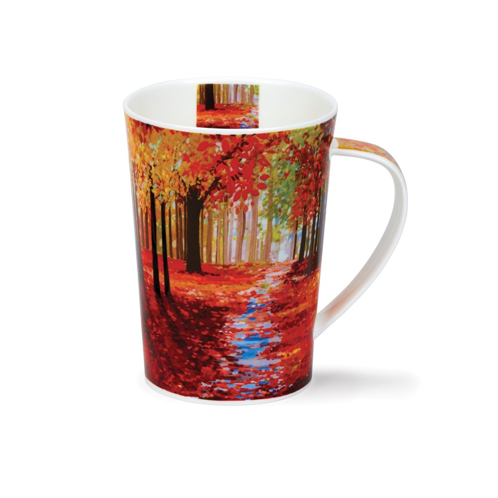 Janet Bell Dunoon Mug - Autumn Path