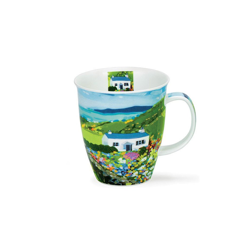 Janet Bell Dunoon Mug - Cottage (Church Bay, Anglesey)