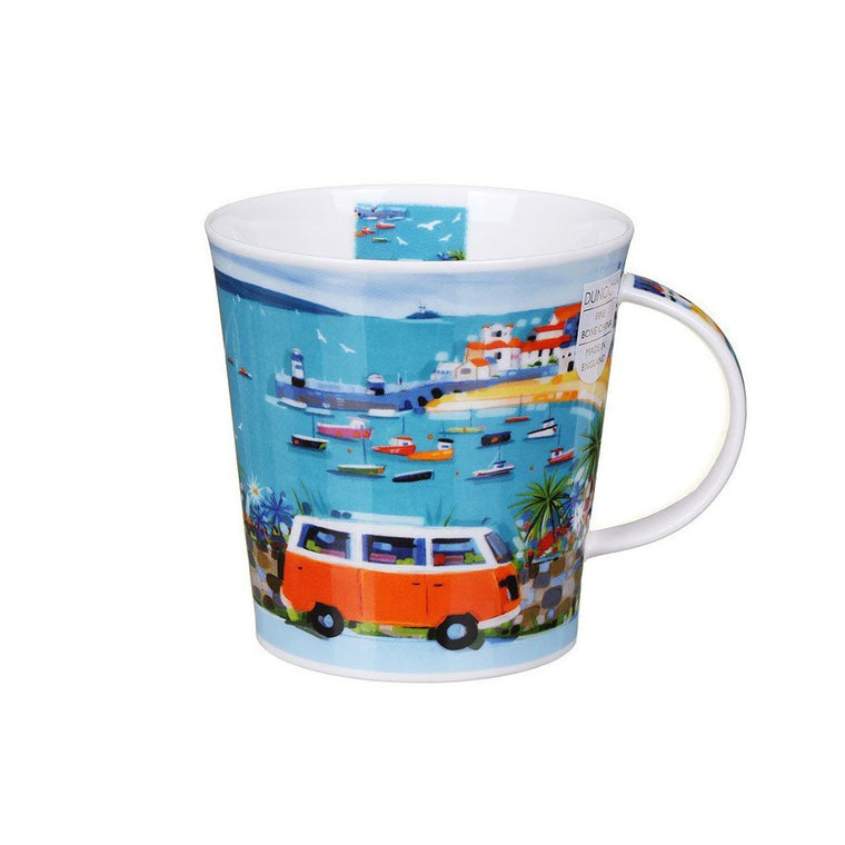 Janet Bell Dunoon Mug - St Ives here we come